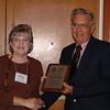 Award Chair Belinda McLaughlin and Felllows Award winner Bill Lindemann