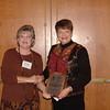 Sue Wiseman is presented with Honarary Life Membership