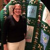 Betsy Farris won the Raffle Quilt benefiting the undergraduate scholarships fund