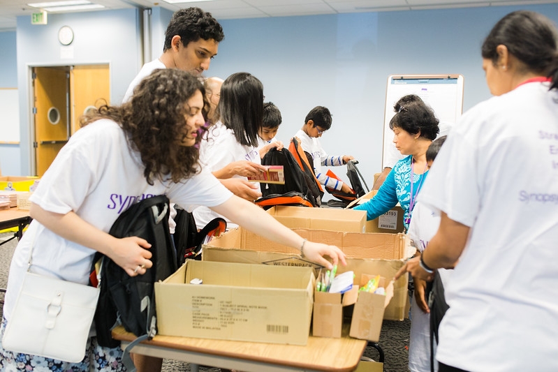 Synopsys 2015 Stuff The Bus