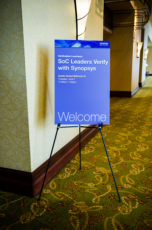 Synopsys Verification Luncheon at Hilton Hotel