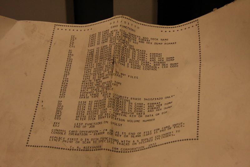 IBM disc drive operator's manual