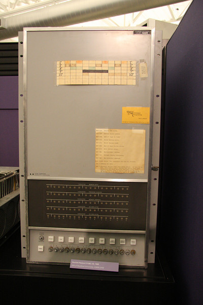 This machine had several bits of documentation taped to it...