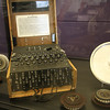 The Enigma encryption machine. Ed informed me that one of the encryption methods HSPICE uses is from the Enigma.