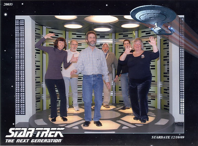 AMSG Pubs at Star Trek Exhibit Dec 10, 2009