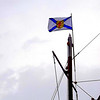Makes me proud to see the flag of Nova Scotia , one of our maritime provinces.