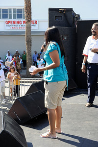 4th Annual Taste of Soul Held on Crenshaw Blvd. in Los Angeles California on October 17, 2009. Sponsored by Publisher Danny Bakewell and KJLH home of The Steve Harvey Morning Show on October 17, 2009.