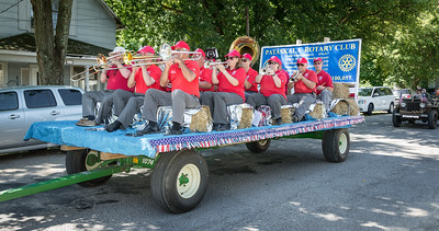The band agreed that this was one of their easiest parades on record!  ;-)