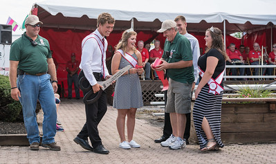 Ribbon-cutting to officially open the fair