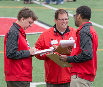 Current OSUMB leadership:  Associate Director Chris Hoch, Director Jon Waters and Assistant Director Mike Smith