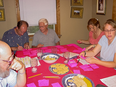 Planning and meal ticket stuffing