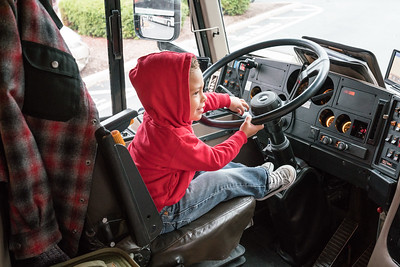 Working on his CDL