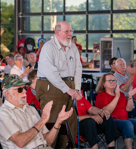 Recognizing veterans during the Armed Forces Medley