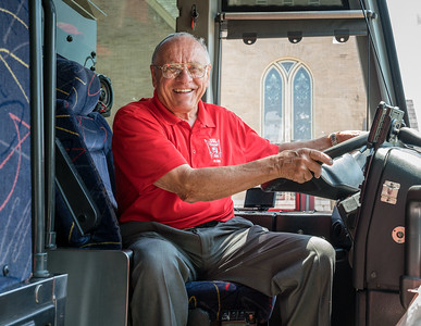 Honorary bus driver