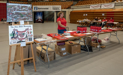 TBDBITL merchandise ready for buyers