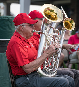 Bob and the handsome double-bell Euphonium