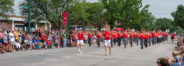 Northwest Blvd & Zollinger Rd - approaching Parade Central
