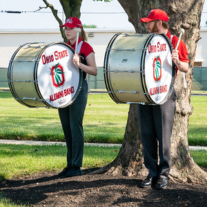 Bass Drums at the ready