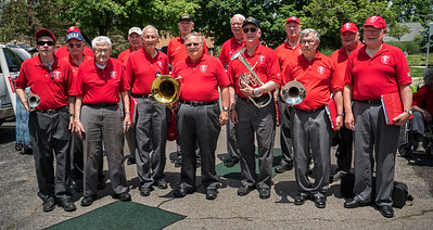 Armed Forces Veterans in TBDBITL Alumni pause for a group photo