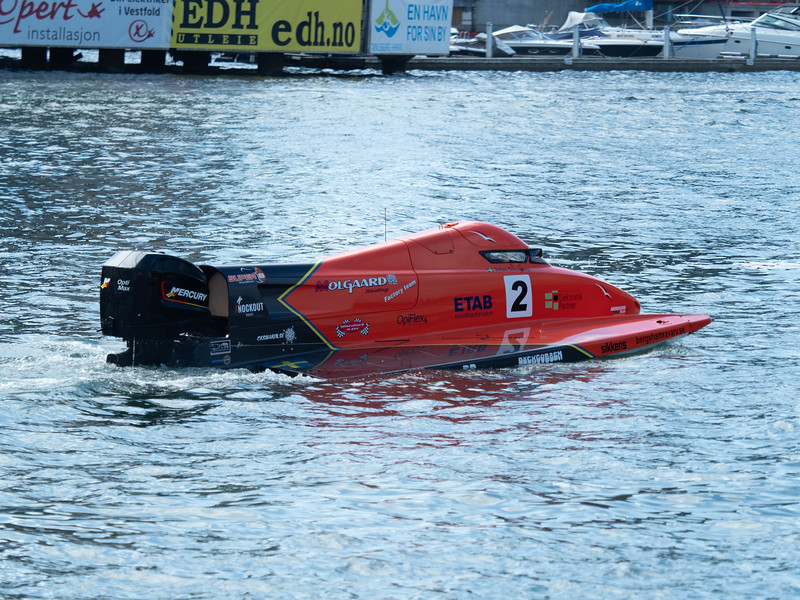Photo:  Andreas Henden -  2, Boat racing, Circuit, F2, Johan Õsterberg, Ship, UIM, Union Internationale Motonautique, boatracing, formula2, formula2powerboatracing, powerboat