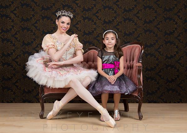 Sugar Plum Fairy Tea Party - McDavid Studio - 13 Dec 2015