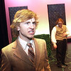 "Record-Eagle/Garret Leiva<br /> Neville, played by David Fox, insists that Mary should leave the estate in a scene from the Traverse City West Senior High School production of ""The Secret Garden."""