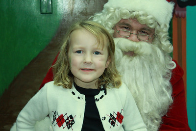 TCA Cookies With Santa 2010