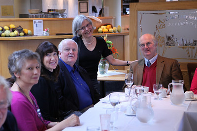 Toula Spencer-Johnson, Loraine and Bill Nixon, Helen Martindale and Timothy Brownlow