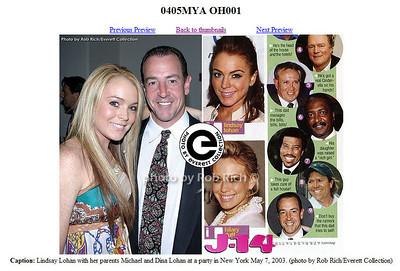 Lindsay Lohan, Mike Lohan