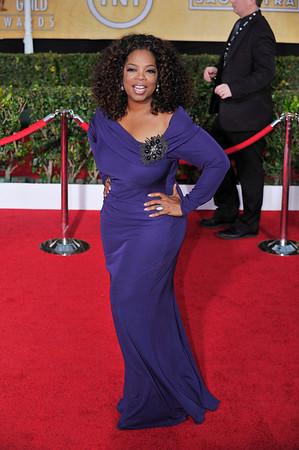 Oprah Winfrey and Fofrest Whitaker's wife