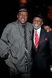 """The 42nd NAACP IMAGE AWARDS """"Affirming America's Promise""""SHOW  was held at the Shrine Auditorium on March 4, 2011 Lou Gossett Jr.& Michael Colyar Valerie Goodloe"""