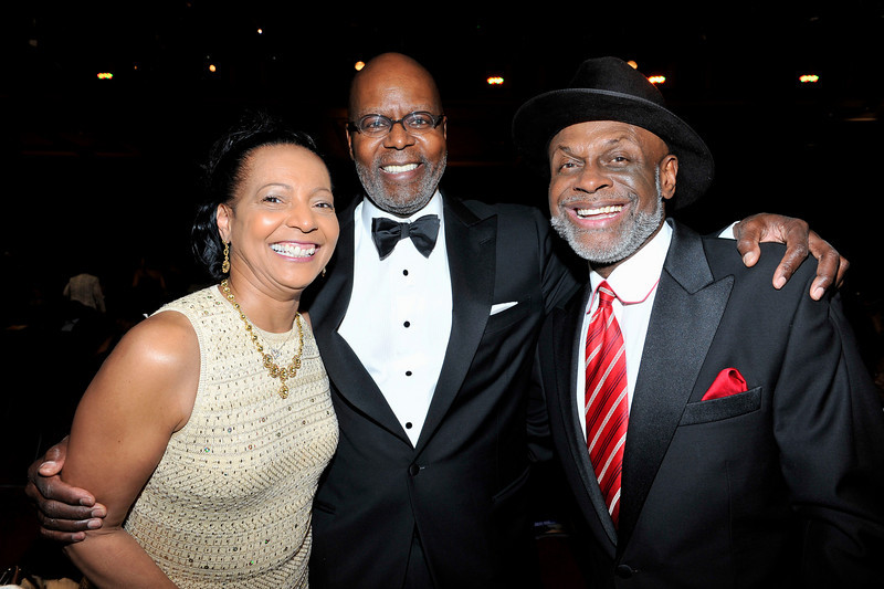 "The 42nd NAACP IMAGE AWARDS ""Affirming America's Promise""SHOW  was held at the Shrine Auditorium on March 4, 2011 Rueben Canon and Michael Colyar Valerie Goodloe"