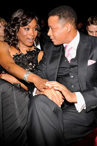 """The 42nd NAACP IMAGE AWARDS """"Affirming America's Promise""""SHOW  was held at the Shrine Auditorium March 4, 2011 Angela Bassett and Terrence Howard Valerie Goodloe"""