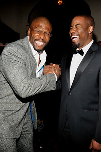 """The 42nd NAACP IMAGE AWARDS """"Affirming America's Promise""""SHOW  was held at the Shrine Auditorium March 4, 2011 Terry Crews and Michael Jai Parker Valerie Goodloe"""