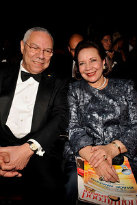 """The 42nd NAACP IMAGE AWARDS """"Affirming America's Promise""""SHOW  was held at the Shrine Auditorium March 4, 2011 Colin Powell and wife Valerie Goodloe"""