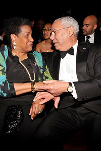 """The 42nd NAACP IMAGE AWARDS """"Affirming America's Promise""""SHOW  was held at the Shrine Auditorium March 4, 2011 Merlie Evers and Colin Powell Valerie Goodloe"""