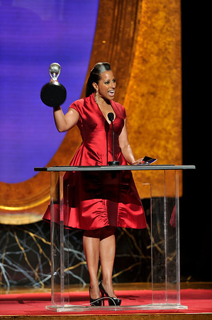 "The 42nd NAACP IMAGE AWARDS ""Affirming America's Promise""SHOW  was held at the Shrine Auditorium on March 4, 2011 Millicent Shelton Valerie Goodloe"
