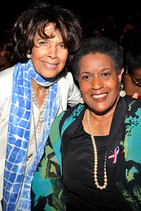 """The 42nd NAACP IMAGE AWARDS """"Affirming America's Promise""""SHOW  was held at the Shrine Auditorium March 4, 2011 Artis Lane and Merlie Evers Valerie Goodloe"""