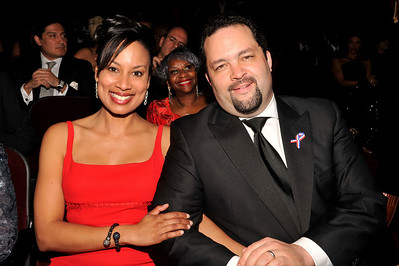 """The 42nd NAACP IMAGE AWARDS """"Affirming America's Promise""""SHOW  was held at the Shrine Auditorium March 4, 2011 President Benjamin Jealous and wife Valerie Goodloe"""