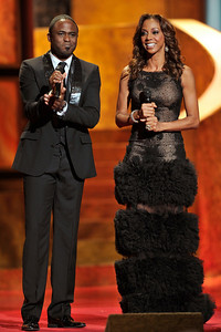 """The 42nd NAACP IMAGE AWARDS """"Affirming America's Promise""""SHOW  was held at the Shrine Auditorium March 4, 2011 Wayne Brady and Holly Robinson Peete Valerie Goodloe"""