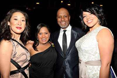 """The 42nd NAACP IMAGE AWARDS """"Affirming America's Promise""""SHOW  was held at the Shrine Auditorium March 4, 2011 Sandra Oh, Chandra Wilson, James Pickens Jr. Sarah Ramirez Valerie Goodloe"""