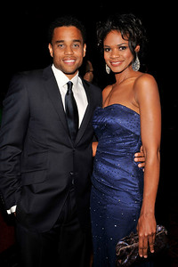 """The 42nd NAACP IMAGE AWARDS """"Affirming America's Promise""""SHOW  was held at the Shrine Auditorium March 4, 2011 Michael Ealy and Kimberly Elise Valerie Goodloe"""