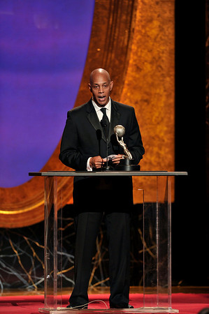 "The 42nd NAACP IMAGE AWARDS ""Affirming America's Promise""SHOW  was held at the Shrine Auditorium on March 4, 2011 Ray Charles Robinson Jr. Valerie Goodloe"