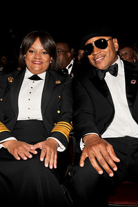 """The 42nd NAACP IMAGE AWARDS """"Affirming America's Promise""""SHOW  was held at the Shrine Auditorium March 4, 2011 Dr. Regina M. Benjamin, and LL Cool J Valerie Goodloe"""