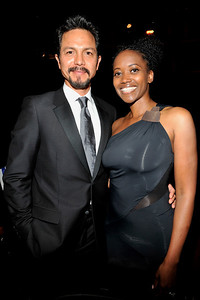 """The 42nd NAACP IMAGE AWARDS """"Affirming America's Promise""""SHOW  was held at the Shrine Auditorium March 4, 2011 Benjamin Bratt and Erica Alexander Valerie Goodloe"""