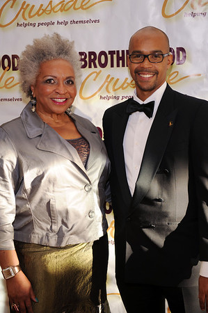 "THE BROTHERHOOD CRUSADE CELEBRATING 45 YEARS ""SOUND OF THE FUTURE""    HELD AT THE BEVERLY HILTON HOTEL ON NOVEMBER 1, 2013. THE PROGRAM WAS HOSTED BY MASTER OF CEREMONIES CHRIS SCHAUBLE AND MISTRESS OF CEREMONIES PAT PRESCOTT."