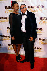THE BROTHERHOOD CRUSADE PRESENTS BREMOND BAKEWELL PIONEER AFRICAN AMERICAN AWARD DINNER HONORING CEDRIC THE ENTERTAINER AT THE BEVERLY HILTON HOTEL ON NOVEMBER 7, 2014.  (Photos by Valerie Goodloe)