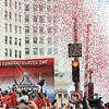 THE CHICAGO BLACKHAWKS STANLEY CUP PARADE :