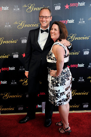 THE GRACIES 37th Annual HRACIE AWARDS Honoring the Best Programming By For and About Women Evening Gala Teusday May 22, 2012 at the Beverly Hilton Hotel.  (Photo by Valerie Goodloe)