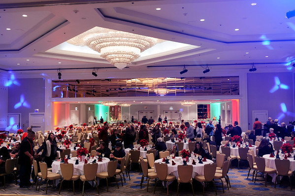 THE INTERNATIONAL BROTHERHOOD OF ELECTRICAL WORKERS LOCALM 18, THROWS A CHRISTMAS PARTY AND CONCERT WITH THE BAND WAR AT THE UNIVERSAL SHERATON HOTEL ON DECEMBER 12, 2014.  (Photos by Valerie Goodloe)